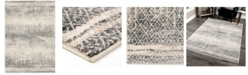 "Palmetto Living Riverstone Pinnacle Cloud Gray 6'7"" x 9'6""  Area Rug"