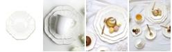 """Twig New York Amelie Brushed Gold Rim 8.5"""" Salad Plate"""