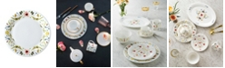 "Twig New York Scandinavian Floral 10"" Dinner Plate"