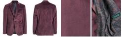 Lauren Ralph Lauren Big Boys Classic-Fit Burgundy Velvet Sport Coat