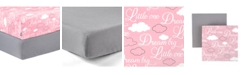 Tadpoles 2 Piece Microfiber Crib Fitted Sheet Set Collection