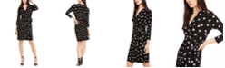 Anne Klein Tess Printed Wrap Dress
