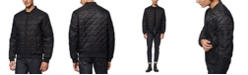 Marc New York Men's Bugby Quilted Bomber Jacket