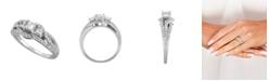 Macy's Diamond (1 ct. t.w.) Engagement Ring in 14K White Gold