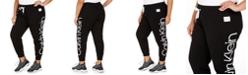 Calvin Klein Plus Size Jumbo-Logo Jogger Pants
