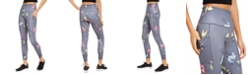Ideology Floral-Print High-Waist Side-Pocket Leggings, Created for Macy's