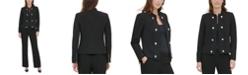 Calvin Klein Button-Trim Jacket
