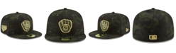New Era Milwaukee Brewers Armed Forces Day 59FIFTY-FITTED Cap