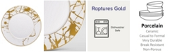 Noritake Raptures Gold Dinner Plate