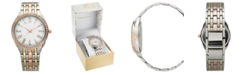 Charter Club Women's Tri-Tone Bracelet Watch 40mm, Created for Macy's