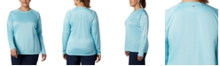 Columbia Plus Size Long-Sleeve SPF Top