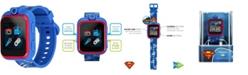 iTouch Kids PlayZoom DC Comics Superman Symbol Strap Touchscreen Smart Watch 42x52mm
