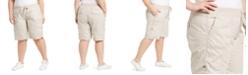 Calvin Klein Plus Size Woven Active Shorts