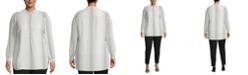 Anne Klein Plus Size Florentine Dot-Print Top