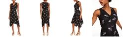 Michael Kors Embroidered Midi Dress