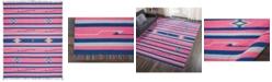 Long Street Looms Macah MAC01 Pink, Blue 8' x 10' Area Rug