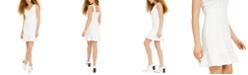 Bar III Flounce-Hem Sheath Dress, Created for Macy's
