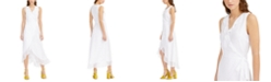 Bar III Clip-Dot Wrap Maxi Dress, Created for Macy's