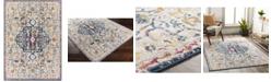"""Abbie & Allie Rugs Floransa FSA-2313 Navy 5'3"""" x 7'1"""" Area Rug"""