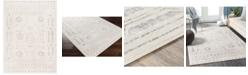 "Abbie & Allie Rugs Roma ROM-2332 White 5'3"" x 7'1"" Area Rug"