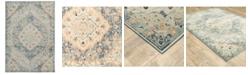 "JHB Design Arcadia ARC11 Blue 9'10"" x 12'10"" Area Rug"