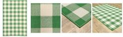 "JHB Design Apex APE07 Green 3'7"" x 5'6"" Area Rug"