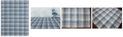 "Amer Rugs Tartan TRA-11 Blue 5' x 7'6"" Area Rug"
