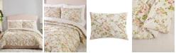 Jessica Simpson Mils Floral Pinch Pleat Full/Queen 3-Piece Comforter Set