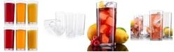 HomeIT 6-Pc. Acrylic Glassware 20-Oz. Tumbler Cups