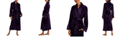 Charter Club Plush Zigzag Long Cozy Wrap Robe, Created for Macy's