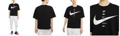 Nike Women's Sportswear Cotton Swoosh T-Shirt