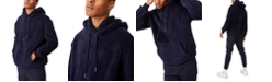 COTTON ON Men's Drop Shoulder Teddy Fleece Hood