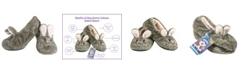 MinxNY Women's Fuzzy Indoor Bunny Slippers