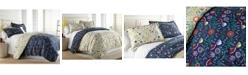 Southshore Fine Linens Boho Bloom Duvet Cover and Sham Set, Twin