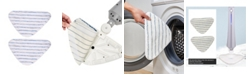 True & Tidy 2-piece Mop Pad Replacement for STM-300 Steam Mop