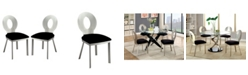Furniture of America Lopez Metal Dining Chair (Set of 2)