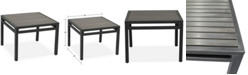 """Furniture CLOSEOUT! Aluminum 24"""" Outdoor End Table, Created for Macy's"""