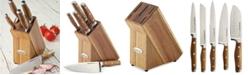 Rachael Ray Cucina 6-Pc. Japanese Stainless Steel Knife Block Set