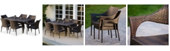 Furniture Chiese 7-Pc. Dining Set, Quick Ship