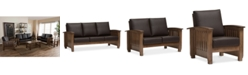 Furniture Charlotte Living Room Collection, Quick Ship