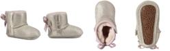 UGG® Baby Girls Jess Bow II Metallic Booties