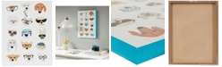 JLA Home Intelligent Design Hip Dog Printed Dimensional Box Wall Art