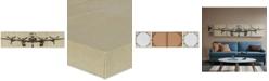JLA Home Intelligent Design Flight Time 3-Pc. Gel-Coated Canvas Print Set