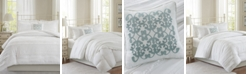 Madison Park Celeste 4-Pc. Full/Queen Duvet Cover Set