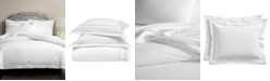 Martha Stewart Collection CLOSEOUT! Signature Lattice Cotton 200-Thread Count 3-Pc. Duvet Sets, Created for Macy's