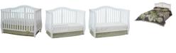 Athena Desiree 4-in-1 Crib, White