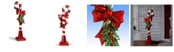 """National Tree Company National Tree 36"""" Candy Cane with Bow"""