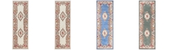 """KM Home Dynasty Aubusson 2'6"""" x 8' Runner Rug, Created for Macy's"""