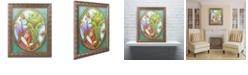 """Trademark Global Jennifer Nilsson Best Friends Forever Ornate Framed Art - 11"""" x 14"""" x 0.5"""""""