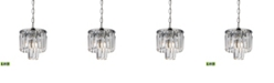 ELK Lighting Palacial 1 Light Pendant in Polished Chrome